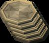 Gold charm slice detail