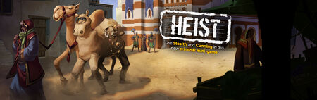 Heist banner