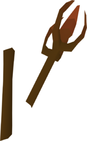 Iban's staff (broken) detail