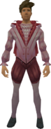 Masquerade Outfit equipped (male)
