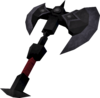 Mysterious axe detail