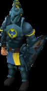 Rune heraldic armour set 3 (lg) equipped