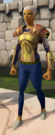 Second-Age range top equipped
