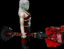 Staff of Sliske (blood) equipped