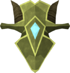 Zephyrium kiteshield detail