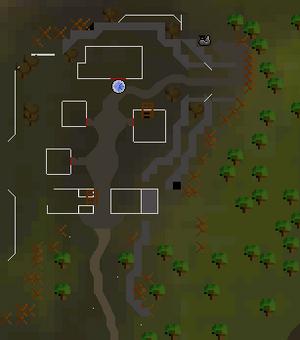 Aldeia dos Duendes mapa