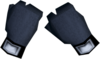 Black wizard gloves detail