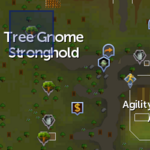 Elder tree (Tree Gnome Stronghold) location