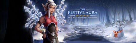 Festive Aura 2013 banner