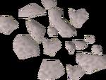 Flail dust detail