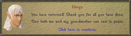 Islwyn beloont