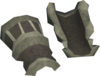 Mercenary's gloves detail