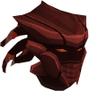 Sirenic mask (blood) chathead