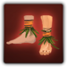 Bare feet icon (male)