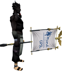 CPSL Mind Banner equipped