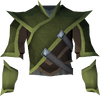 Elf-style coat (green) detail