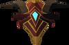 Escudo primal detalhe