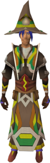 Infinity robes (Earth) equipped