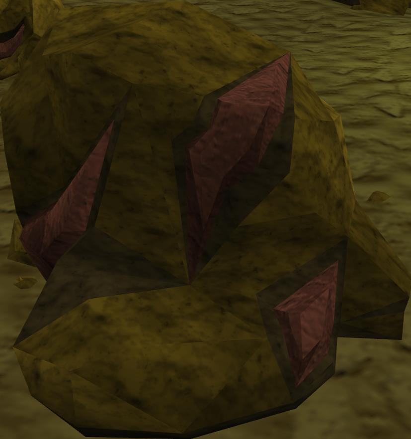 Iron-rock