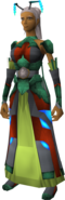 Kalphite Emissary outfit equipped (female)