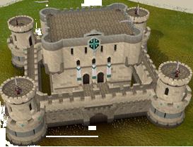 Mobilising castle