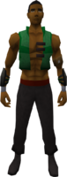 Retro workman's halfcoat