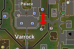Varrock palatsi puu