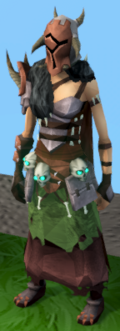 Warpriest of Bandos set equipped (female)