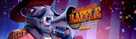 Balthazars Big Raffle head banner