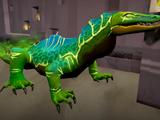 Corrupted lizard