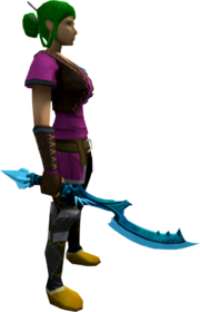 Khopesh of Tumeken (ice) equipped