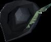 Musketeer's hat (purple, male) detail