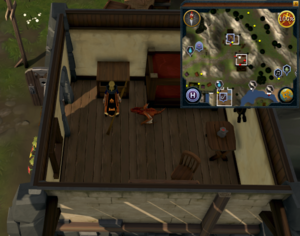 Simple clue Catherby house north of bank upstairs drawers
