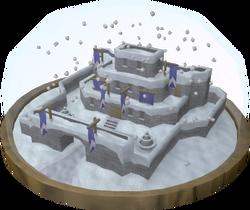 Snow globe view