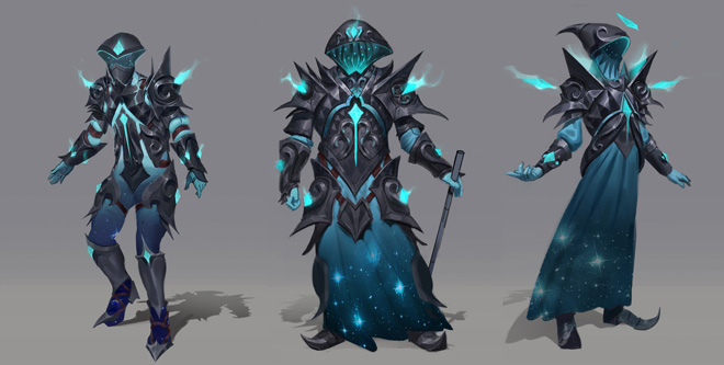 Starfury armour concept art