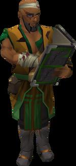 Bandosian quartermaster (injured)