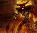 Tormented demon