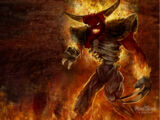 Tormented demon