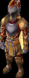 Warpriest of Armadyl equipado