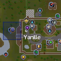 Ancient relic (Yanille) location