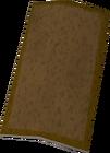 Bronze sq shield detail old