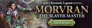 Chronicle Morvran lobby banner