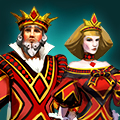 King and Queen of Diamonds pack icon
