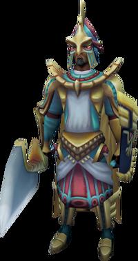 Menaphite guard captain