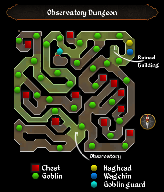 Map:Observatory Dungeon | RuneScape Wiki | FANDOM powered by Wikia on