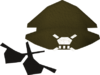 Pirate hat and eyepatches detail