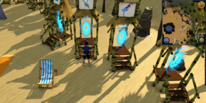 Sandy Clue Scroll Deep Sea Fishing Portal