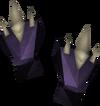 Dragonbone gloves detail