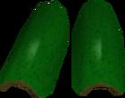 Green d'hide vambraces detail old
