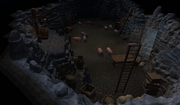 Lumbridge pig pit view